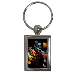 Magical night  Key Chains (Rectangle)