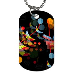 Magical night  Dog Tag (Two Sides)