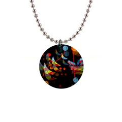 Magical night  Button Necklaces