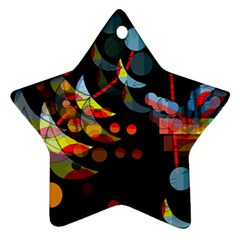 Magical night  Star Ornament (Two Sides)