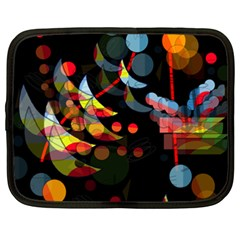 Magical night  Netbook Case (XXL)