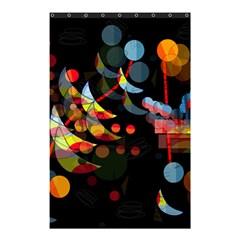 Magical night  Shower Curtain 48  x 72  (Small)