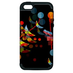 Magical night  Apple iPhone 5 Hardshell Case (PC+Silicone)