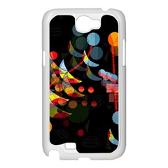 Magical night  Samsung Galaxy Note 2 Case (White)