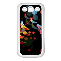 Magical night  Samsung Galaxy S3 Back Case (White)