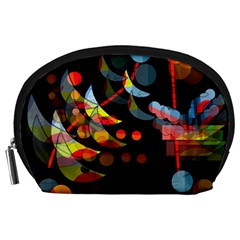 Magical night  Accessory Pouches (Large)
