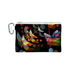 Magical night  Canvas Cosmetic Bag (S)