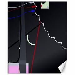 Plug in Canvas 16  x 20