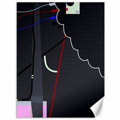 Plug in Canvas 36  x 48