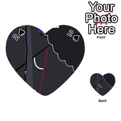 Plug in Playing Cards 54 (Heart)