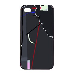 Plug in Apple iPhone 4/4s Seamless Case (Black)
