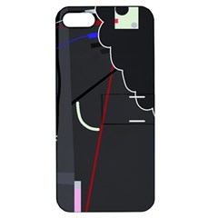 Plug in Apple iPhone 5 Hardshell Case with Stand