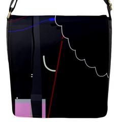 Plug in Flap Messenger Bag (S)