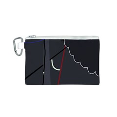 Plug in Canvas Cosmetic Bag (S)