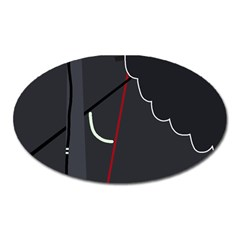 Plug in Oval Magnet