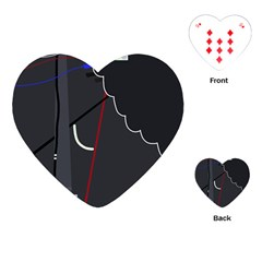 Plug in Playing Cards (Heart)