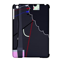 Plug in Apple iPad Mini Hardshell Case (Compatible with Smart Cover)