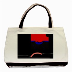 Geometrical abstraction Basic Tote Bag