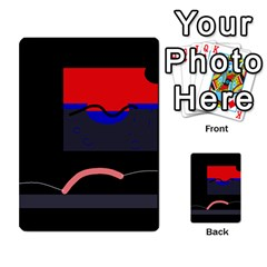 Geometrical abstraction Multi-purpose Cards (Rectangle)