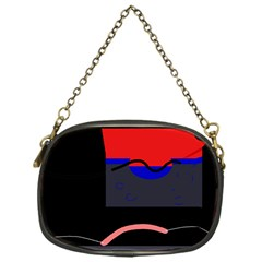Geometrical Abstraction Chain Purses (one Side)