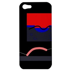 Geometrical abstraction Apple iPhone 5 Hardshell Case