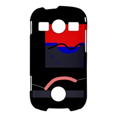 Geometrical abstraction Samsung Galaxy S7710 Xcover 2 Hardshell Case