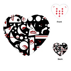 Happy life - red Playing Cards (Heart)