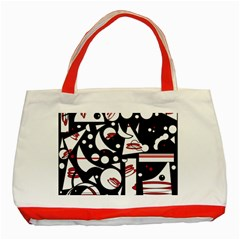 Happy life - red Classic Tote Bag (Red)