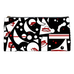 Happy life - red Pencil Cases