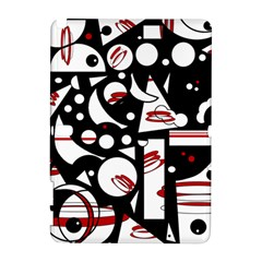 Happy life - red Samsung Galaxy Note 10.1 (P600) Hardshell Case
