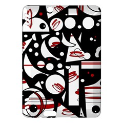 Happy life - red Kindle Fire HDX Hardshell Case