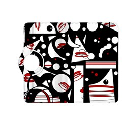 Happy life - red Kindle Fire HDX 8.9  Flip 360 Case