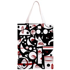 Happy life - red Classic Light Tote Bag