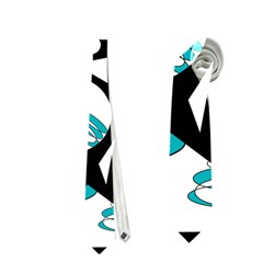 Happy life - blue Neckties (Two Side)