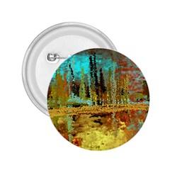 Autumn Landscape Impressionistic Design 2.25  Buttons