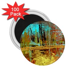 Autumn Landscape Impressionistic Design 2.25  Magnets (100 pack)