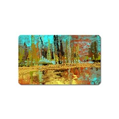 Autumn Landscape Impressionistic Design Magnet (Name Card)