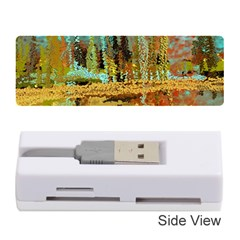 Autumn Landscape Impressionistic Design Memory Card Reader (Stick)