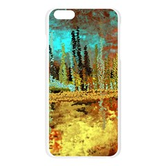 Autumn Landscape Impressionistic Design Apple Seamless iPhone 6 Plus/6S Plus Case (Transparent)