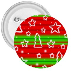 Christmas pattern 3  Buttons