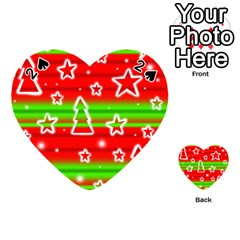 Christmas pattern Playing Cards 54 (Heart)
