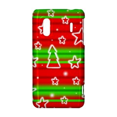 Christmas pattern HTC Evo Design 4G/ Hero S Hardshell Case