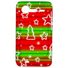 Christmas pattern HTC Incredible S Hardshell Case