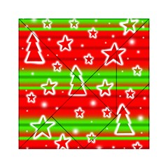 Christmas pattern Acrylic Tangram Puzzle (6  x 6 )