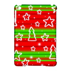 Christmas pattern Apple iPad Mini Hardshell Case (Compatible with Smart Cover)
