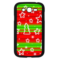 Christmas pattern Samsung Galaxy Grand DUOS I9082 Case (Black)