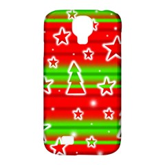 Christmas pattern Samsung Galaxy S4 Classic Hardshell Case (PC+Silicone)