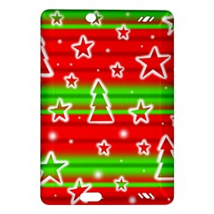 Christmas pattern Amazon Kindle Fire HD (2013) Hardshell Case