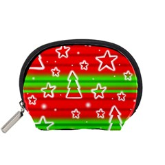 Christmas pattern Accessory Pouches (Small)