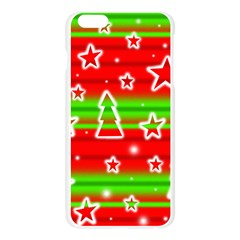 Christmas pattern Apple Seamless iPhone 6 Plus/6S Plus Case (Transparent)